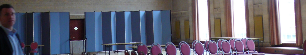 Invisible Airs, Function Room, Council Building, Bristol, UK